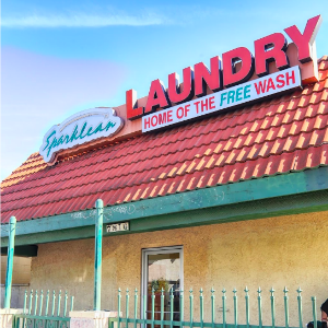Laundromat with wifi