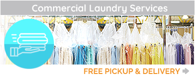 Laundry Drop-Off Service, Commercial Laundry