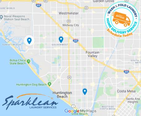 Huntington Beach laundry Delivery Service