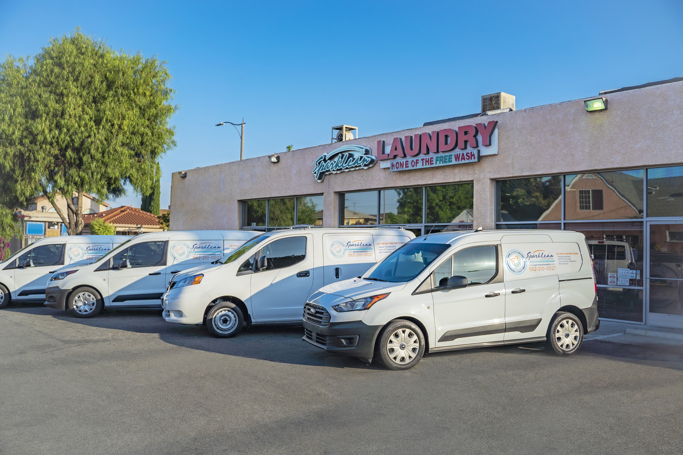 Long beach laundry delivery service